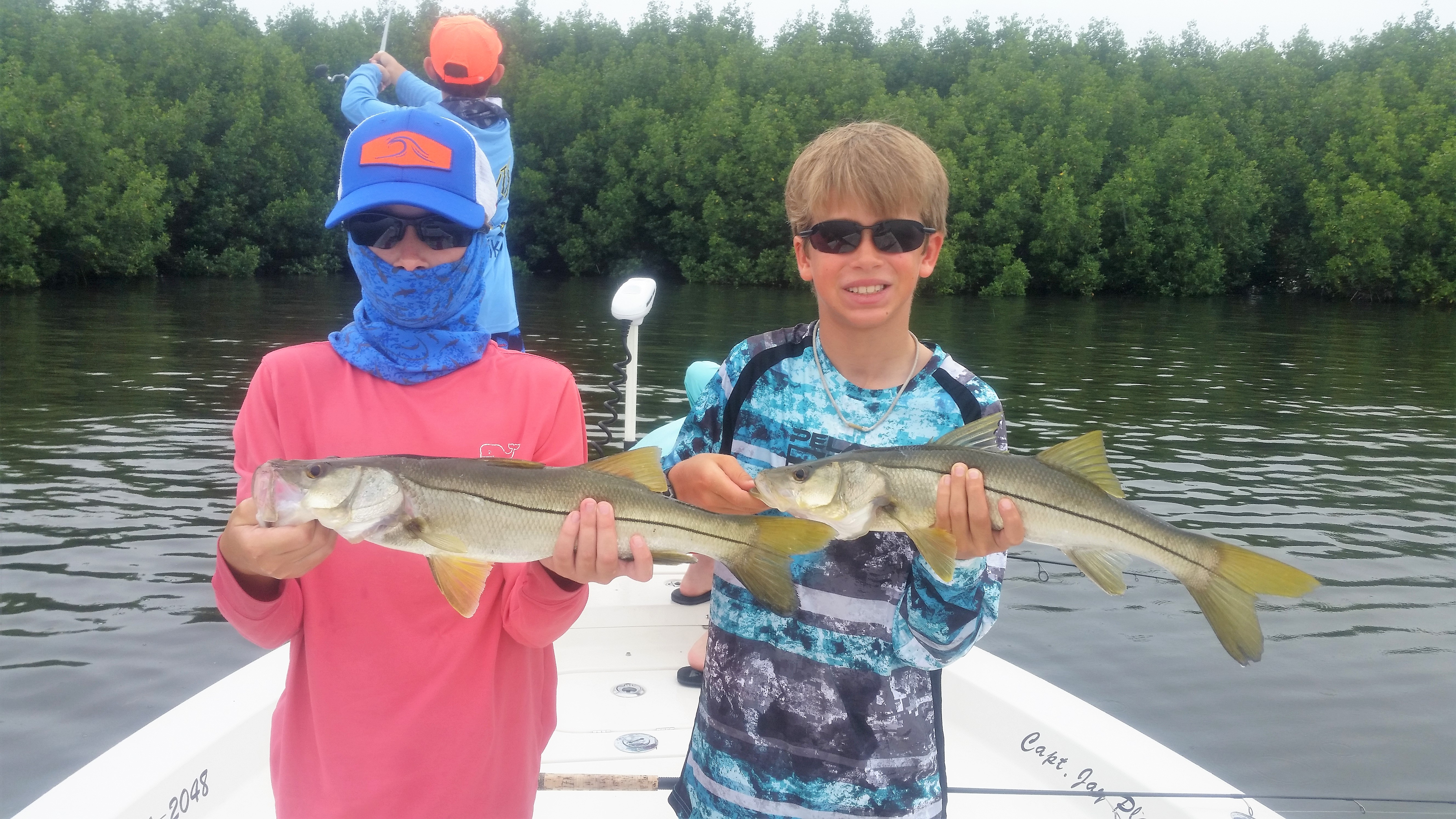 Tampa fishing charters stealth fishing chartes tampa for Fishing camps for kids